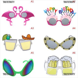 TasteTasty Hawaiian Themed Men Women Funny Beach Sunglasses Sun Glasses Party Supplies