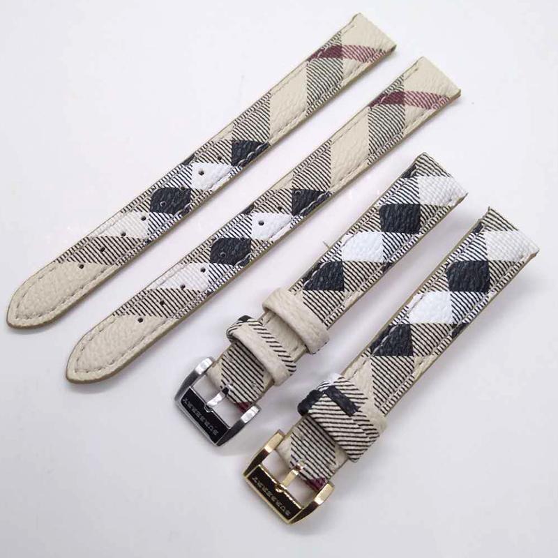 ↙✢สายนาฬิกา gshockสายนาฬิกา smartwatchสายนาฬิกา applewatchBurberryคลาสสิกลายสก๊อตสายหนังbu9222 bu9226สายรัดขาหัวเข็มขัดร