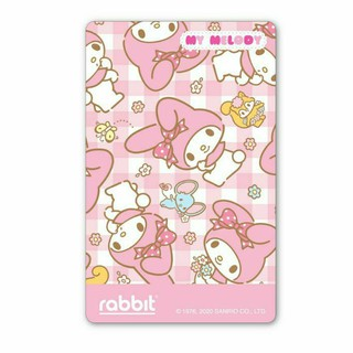 Rabbit Card - My Melody สีชมพู for Adult