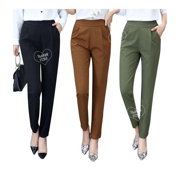 [พร้อมส่ง]กางเกงเลคกิ้ง ผ้ายืดตามตัว ผ้าไม่หนามาก ใส่สบาย