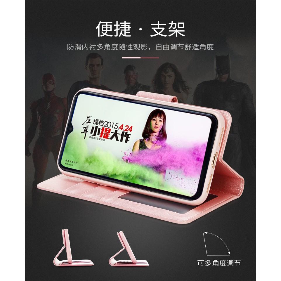 HK|OPPO Realme 2 Pro / Realme C1 Case Original Hanman Flip Stand Leather  Wallet Phone Casing กรณีที่โทรศัพท์