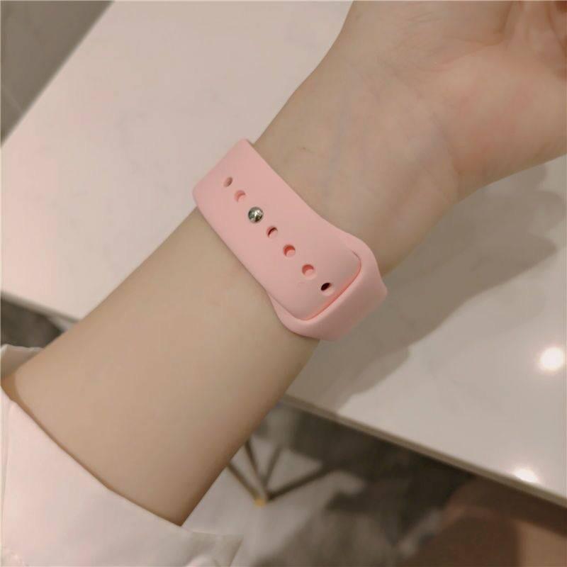 สายนาฬิกาข้อมือหนังแท้สําหรับ Applewatch 3 Iwatch 1-6 Generation Se