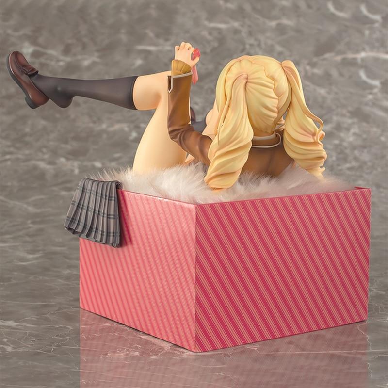 Anime NATIVE  Figure Gift Box Girl Sari Shibusa Second Axe 18CM PVC Action Figure Toy  Girl Figure Model Collection Doll