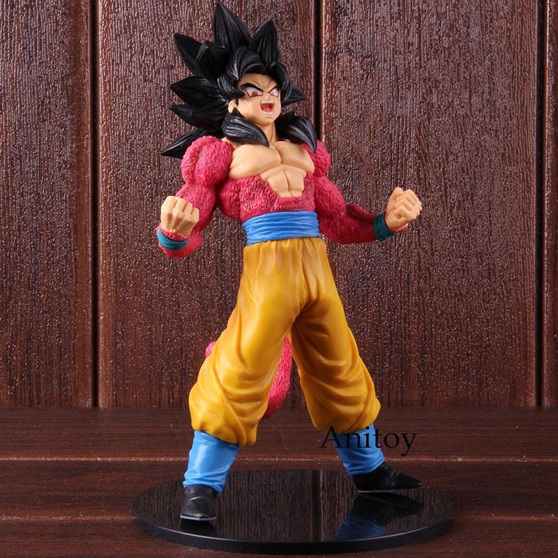ฟิกเกอร์ Dragon Ball Figure GT 2 of Saiyan 4 Figure Son Goku Super Saiyan
