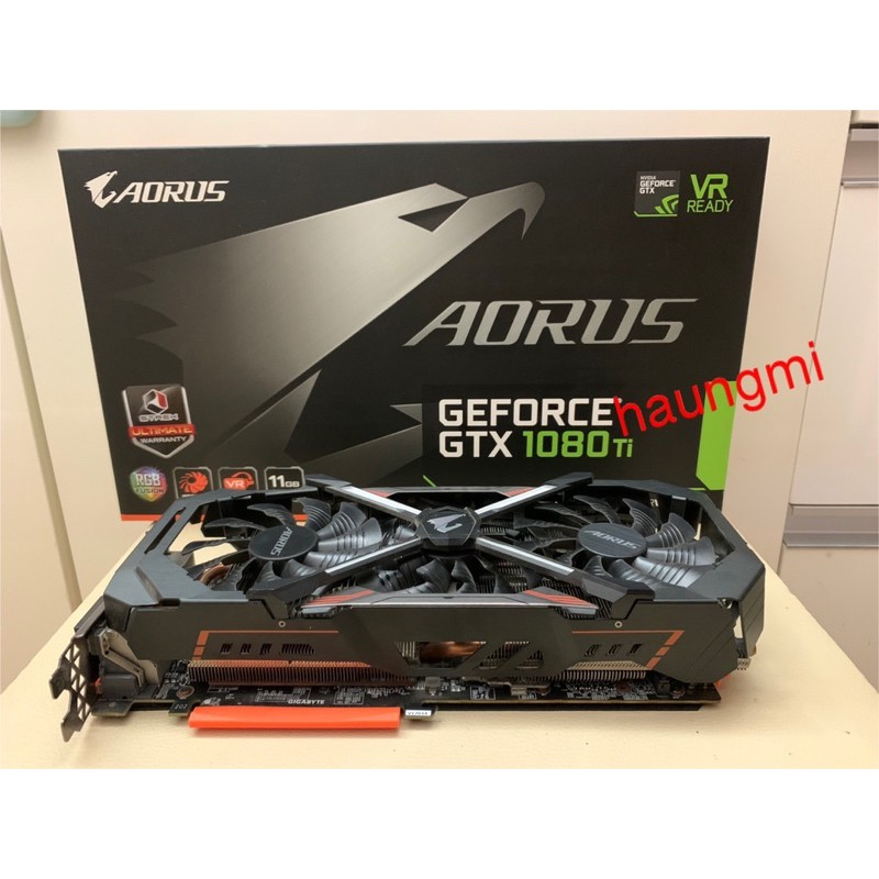 Aorus GeForce GTX 1080 Ti (มือสอง) **ส่งฟรี**