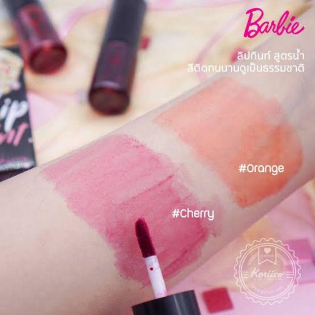 Tint Barbie Lip ลิปทินท์ cherry