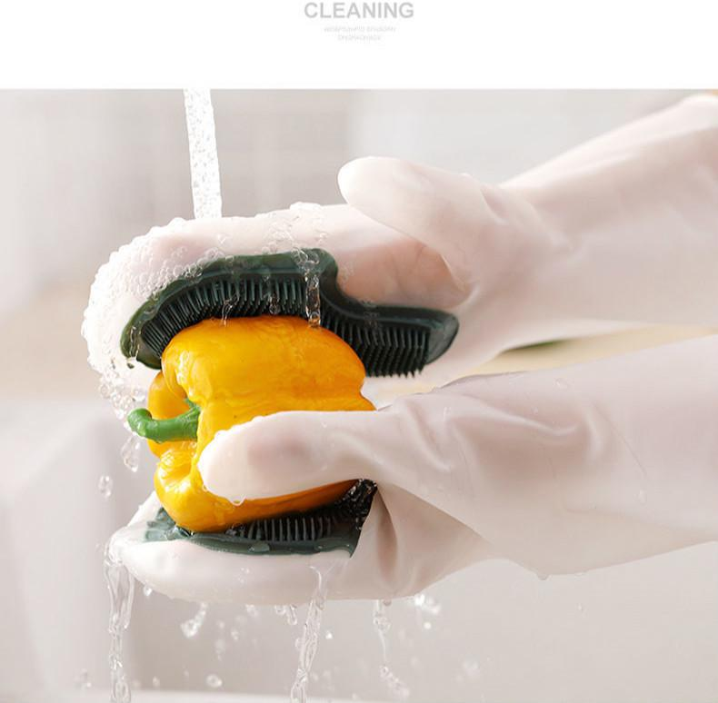 ถุงมือล้างจาน