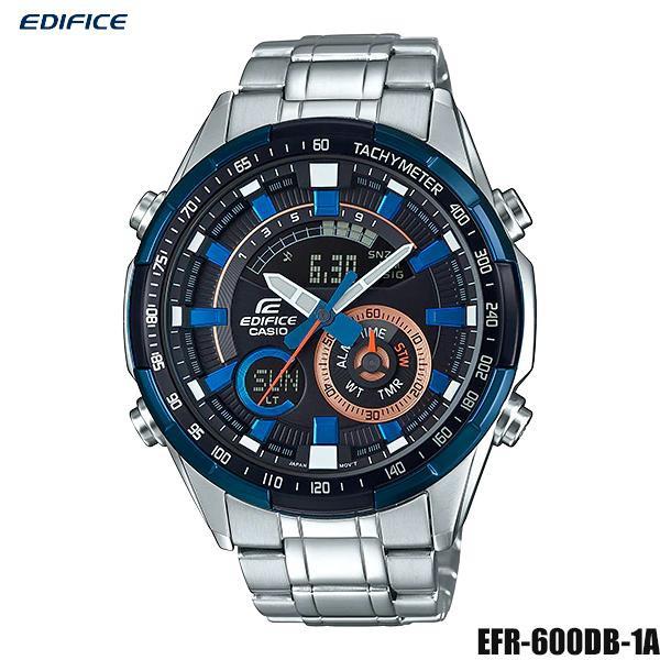 Casio Edifice นาฬิกาข้อมือผู้ชาย สายสแตนเลส รุ่น ERA-600DB-1A