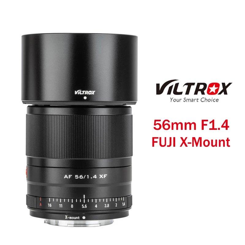 Viltrox 56mm F1.4 XF Lens for Fuji X mount Cameras Large Aperture AF Portrait Lens for Fujifilm XT3 XT30 XT2 X-PRO3 X-E3