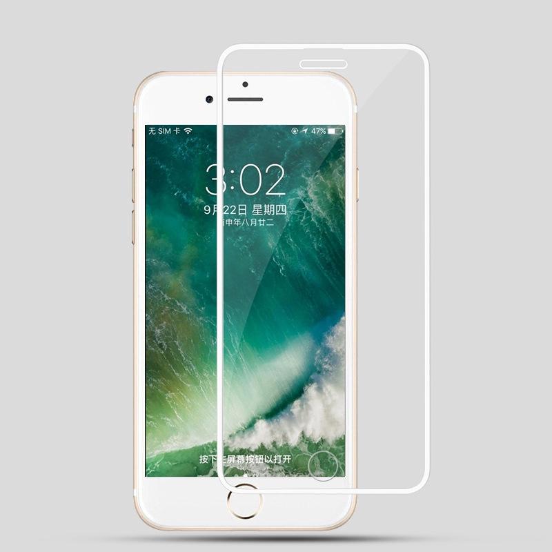 กระจกนิรภัยโทรศัพท์มือถือสองสีสําหรับ Iphone 6 6 S 7 8 Plus Xs Max Xr 11 Pro Max Se 2