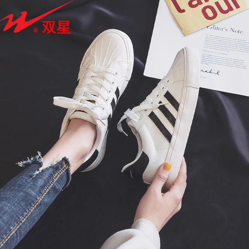 รองเท้าคัชชู รองเท้าผู้หญิง ร้องเท้า ♘ชุดหัวเตียงเชลล์คู่นักเรียนนักเรียนเกาหลีรองเท้าเด็กรองเท้านักเรียนป่า 2021 คลื่นล