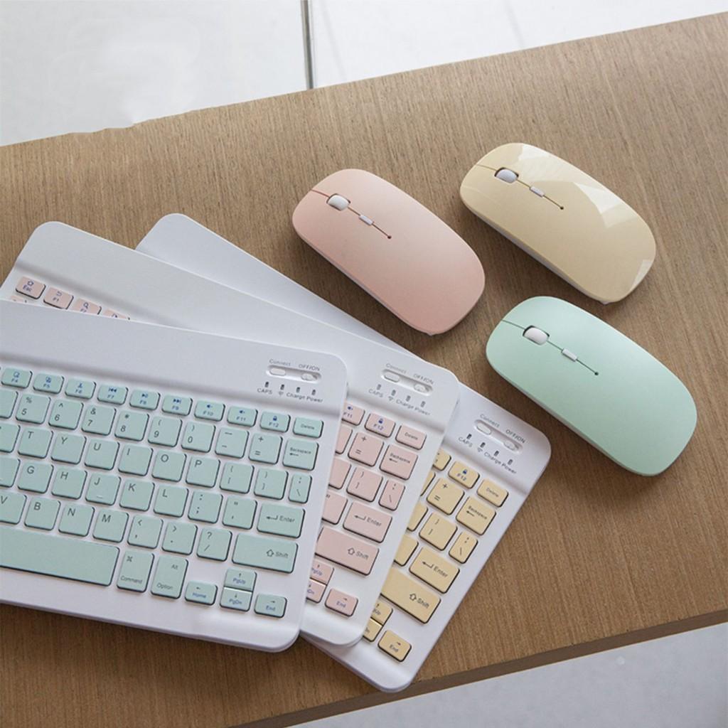 แป้นพิมพ์และเมาส์แบบไทยที่มีสีสัน, สำหรับแท็บเล็ต Android, iPad 9.7 10.5, สำหรับแท็บเล็ต, เมาส์บลูทู ธ , คีย์บอร์ด