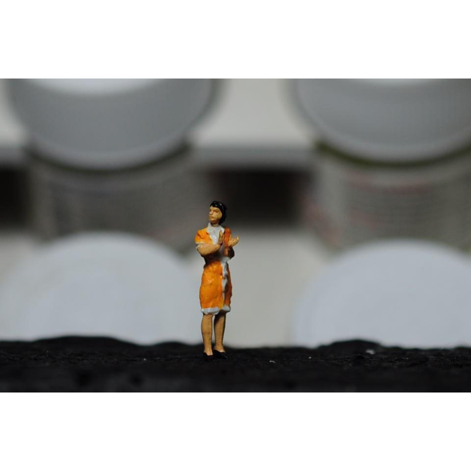 คนจิ๋ว Preiser 1/87 (HO scale) ตัวFigure จาก preiser เยอรมัน ทำสีในไทย