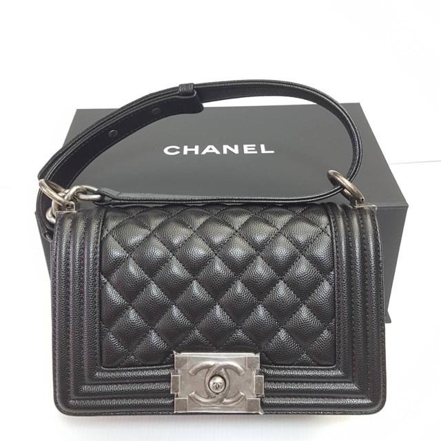 """Chanel Boy 8"""" ราคารูดเต็มจำนวนเท่านั้นหรูหรา"""