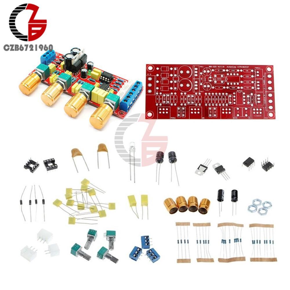 Hot Deal DIY Kits NE5532 Preamp Pre-amplifier Tone Board Treble Alto