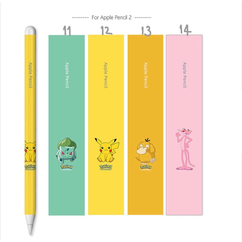 ✅🔥💥✺☑▲[พร้อมส่ง🚗] ฟิล์มปากกา applepencil sticker รุ่นที่1/2 น่ารักๆ พร้อมโปร3แถม1ค่ะ[1]🌟