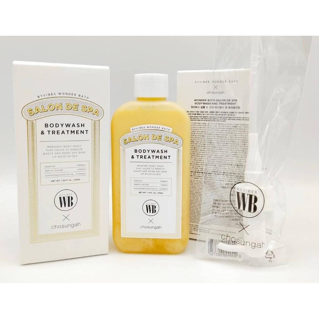 Wonder Bath Salon De Spa Body wash & Treatment 210ml | Shopee Thailand