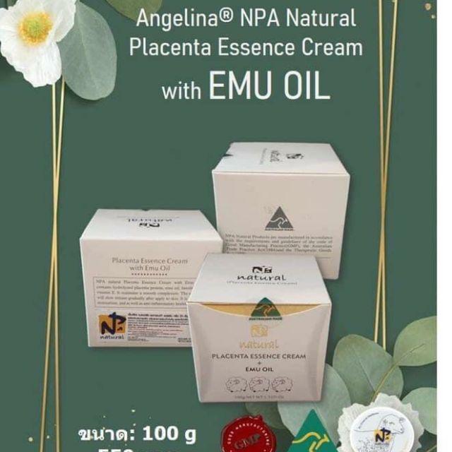 ครีมรกแกะ อีมูออยล์ (Emu Oil) สูตรน้ำมันจากนกอีมู