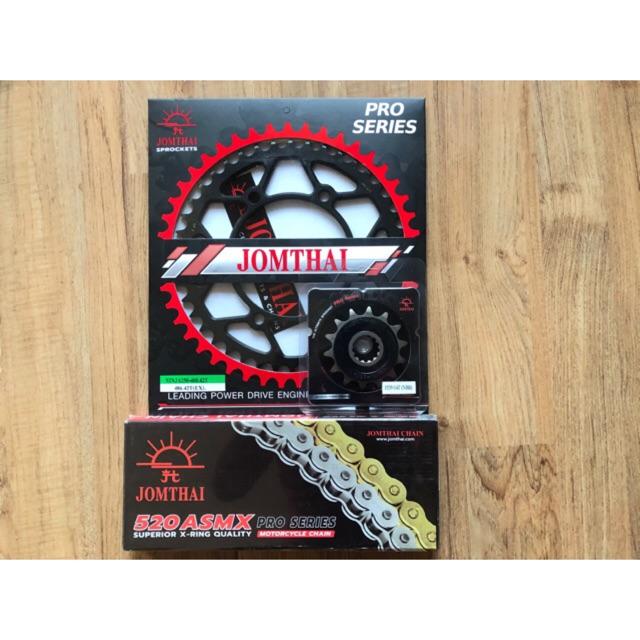 ชุดโซ่สเตอร์ Ninja250/Ninja300/Ninja400/Z250/Z300/Z400/Versys300x/Ninja250SL/Z250SL