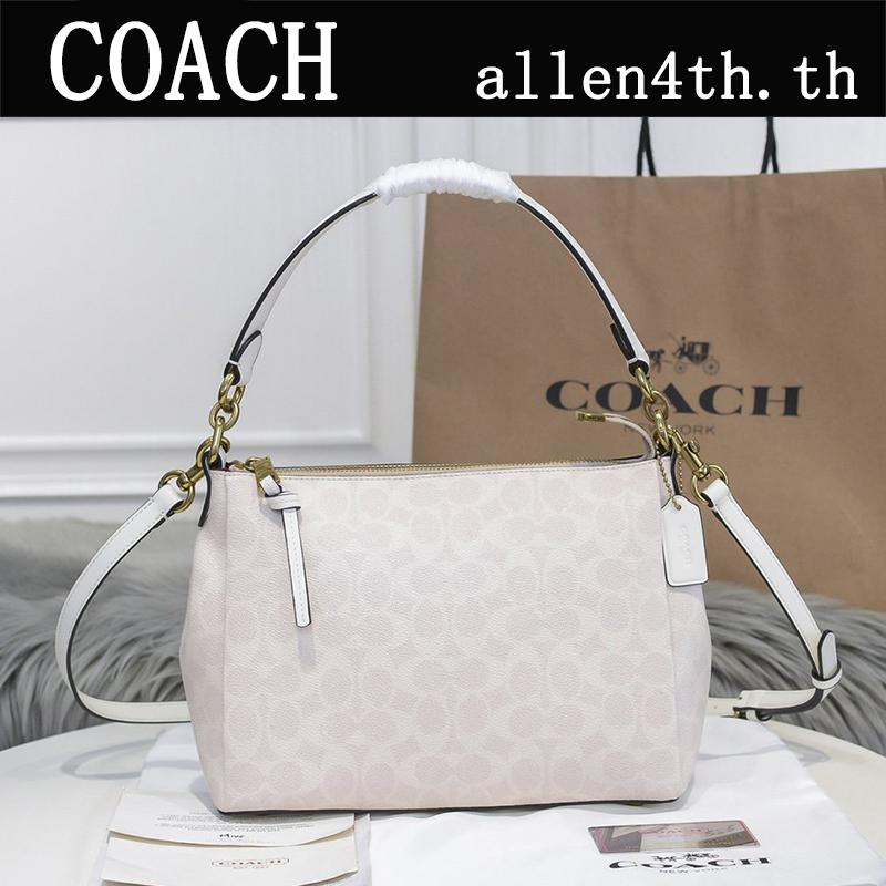 กระเป๋าผู้หญิง Coach แท้ F93847 shoulder bag / กระเป๋าสะพายข้างผู้หญิง / crossbody bag / กระเป๋าถือ / กระเป๋า forever young