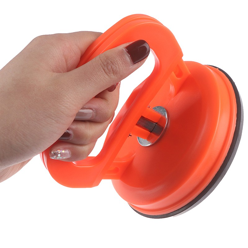 Thicked Glass Suction Cup Professional Heavy Duty Aluminium Alloy Glass Lifter with Single Plate Dent Repair Puller Handle Lifter