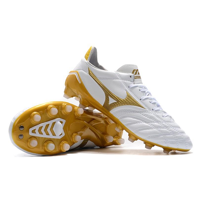 แท้Mizuno Morelia Neo II FG รองเท้าฟุตบอล size:39-45