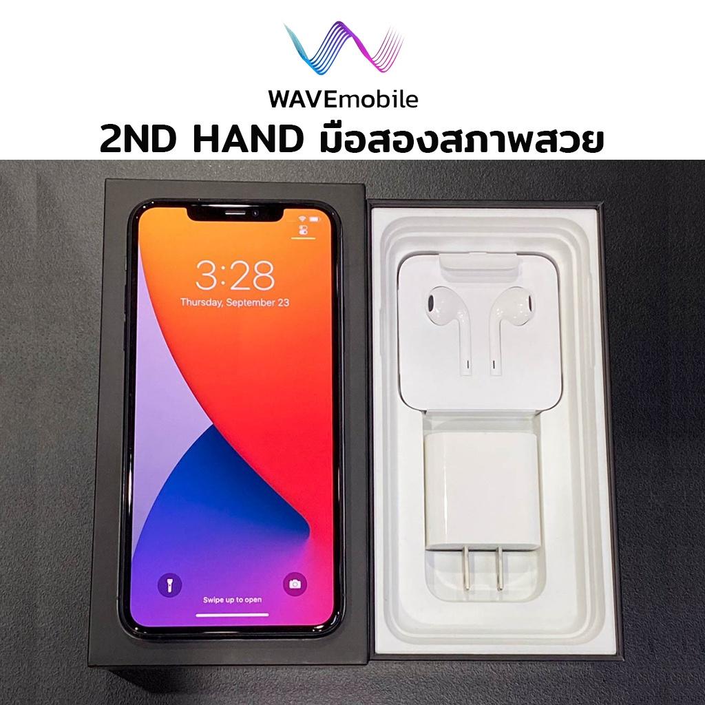 มือสอง(2nd Hand)iPhone 11 ProMax 64GB(Model TH) เครื่องศูนย์ เครื่องแท้ สีเขียว IMEI 3219