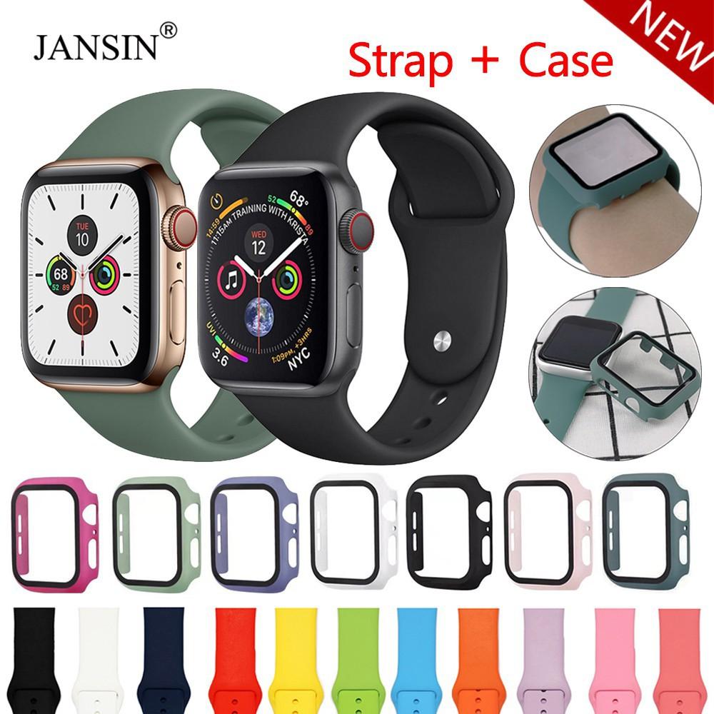 สาย applewatch เคส+สาย เคสสาย นาฬิกาApple Watch SE ขนาด 38 มม.40 มม.42 มม.44 มม เคส applewatch iWatch Series6/5/4/3/2/1