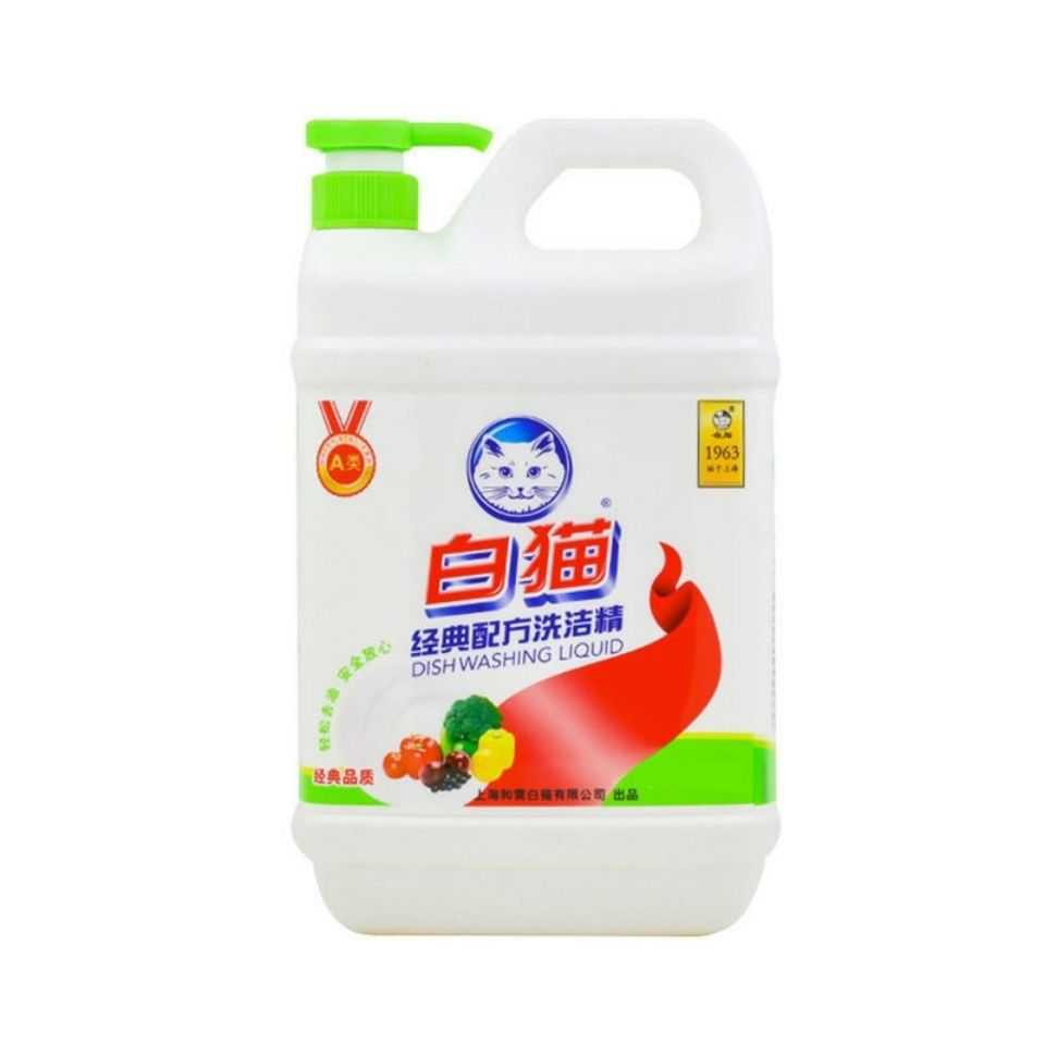 ▲【ทั่วโลกธุรกิจ】แมวสีขาวผงซักฟอกเพื่อการปนเปื้อนน้ำมันช้อนส้อมที่ใช้ในครัวเรือนผลไม้ผักทั่วไป1.1kg×2ถัง■