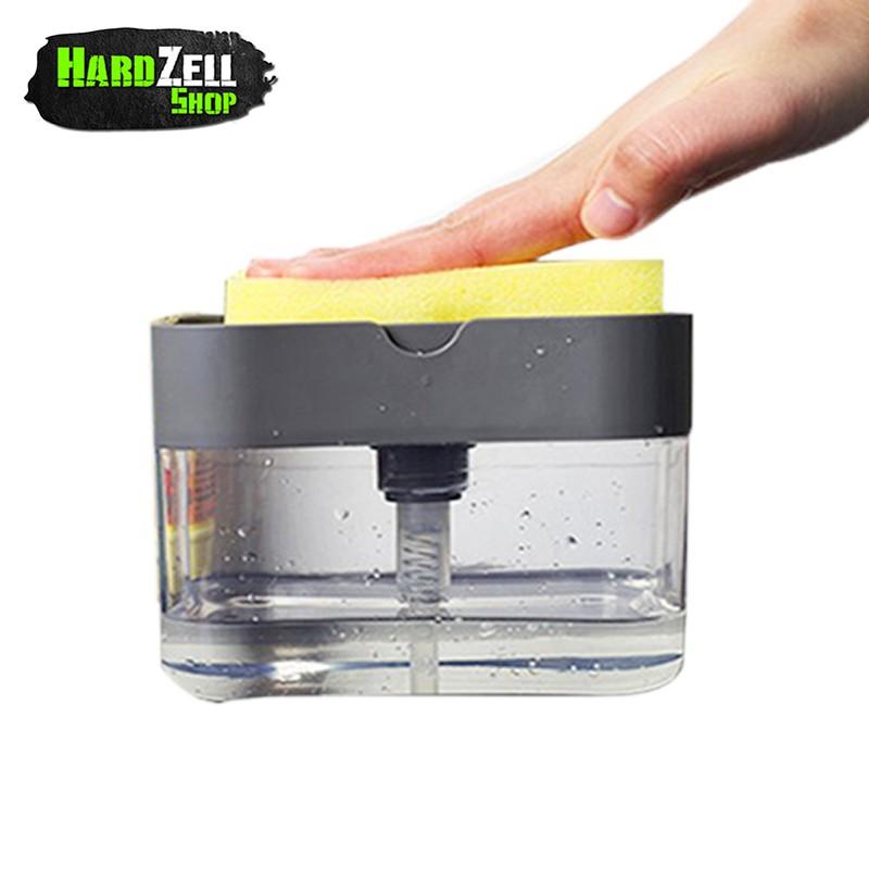 ที่กดน้ำยาล้างจาน Soap Pump ที่กดน้ำยาล้างจาน ปั๊มน้ำยาล้างจาน ที่กดน้ำยาล้างจาน+ฟองน้ำ ที่ใส่น้ำยาล้างจาน