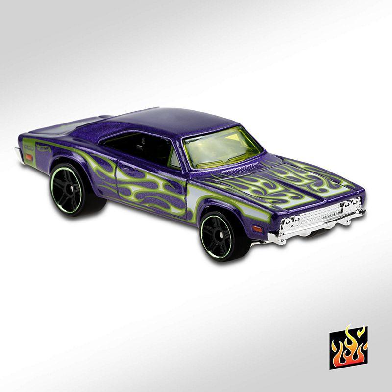 189-NEUF dans neuf dans sa boîte Hot wheels 2020 /'69 DODGE CHARGER 500-HW Flames