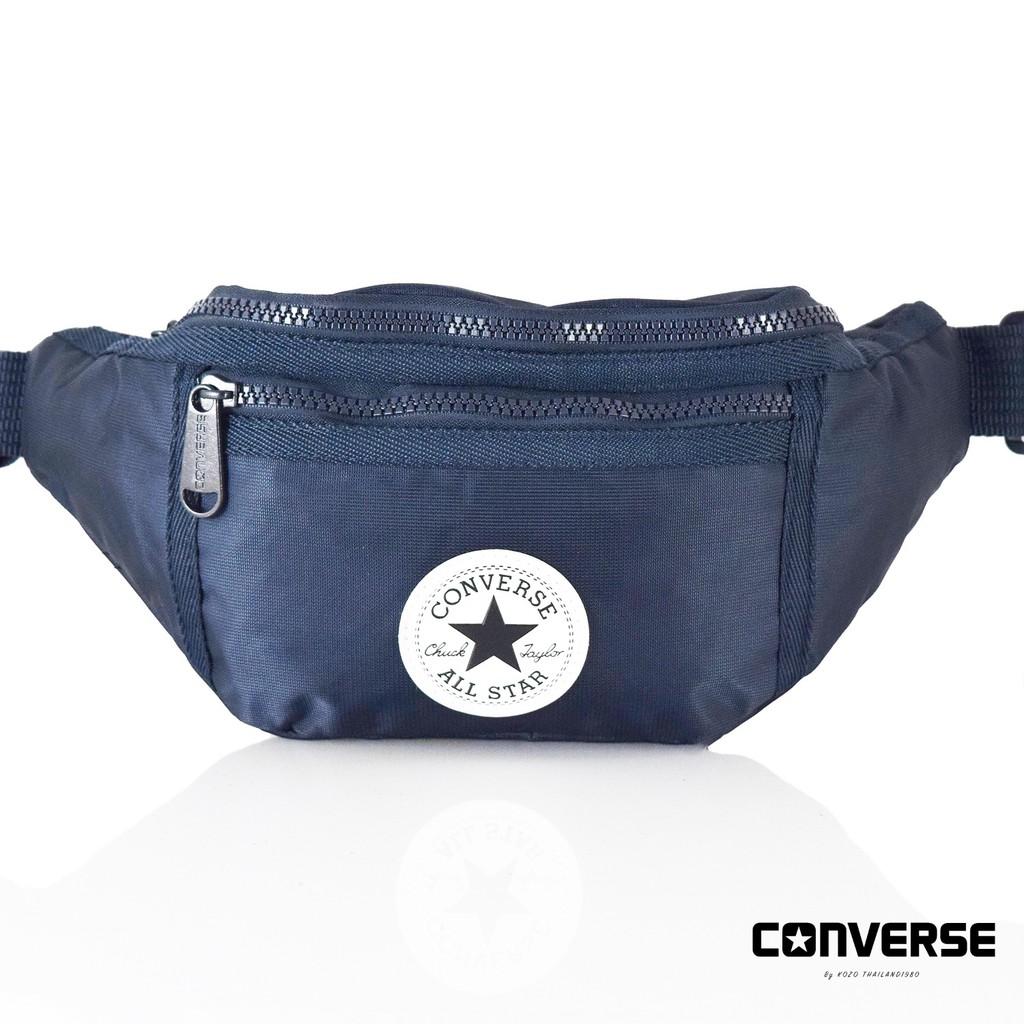 b57249da9fdd Converse Mesh Look Waist Bag  ของแท้  ฟรีถุงShop แท้100%  สต็อคพร้อม