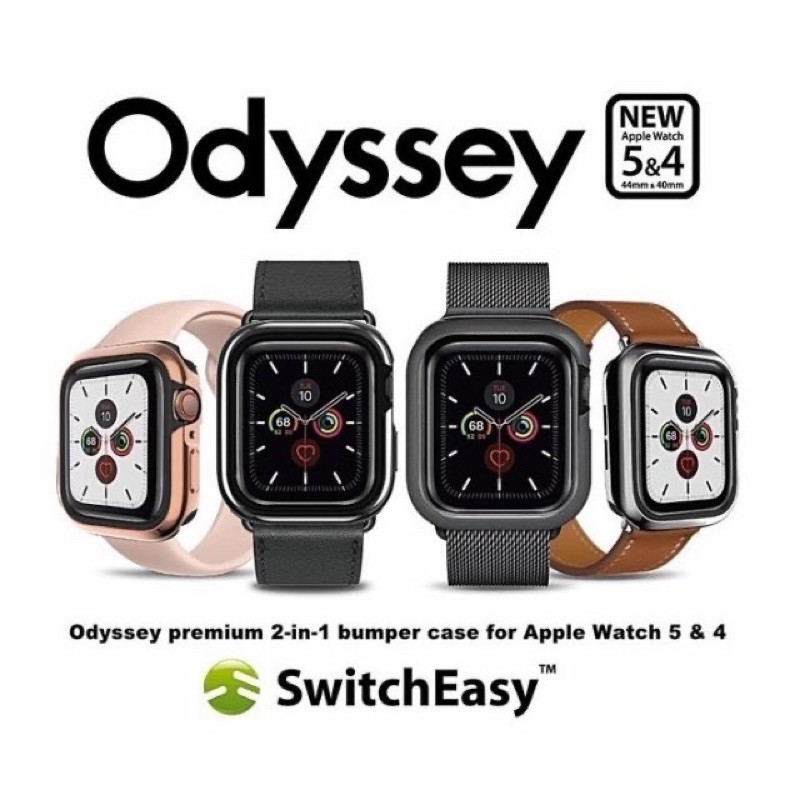 Switchasy Odyssey Case For Apple Watch 40/44mmSeries4-5
