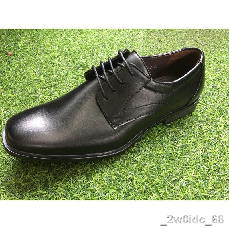 ❃รองเท้าคัชชูชาย Fashion by Baoji รองเท้าหนังผู้ชาย แบบผูกเชือก ไซส์ 39-46