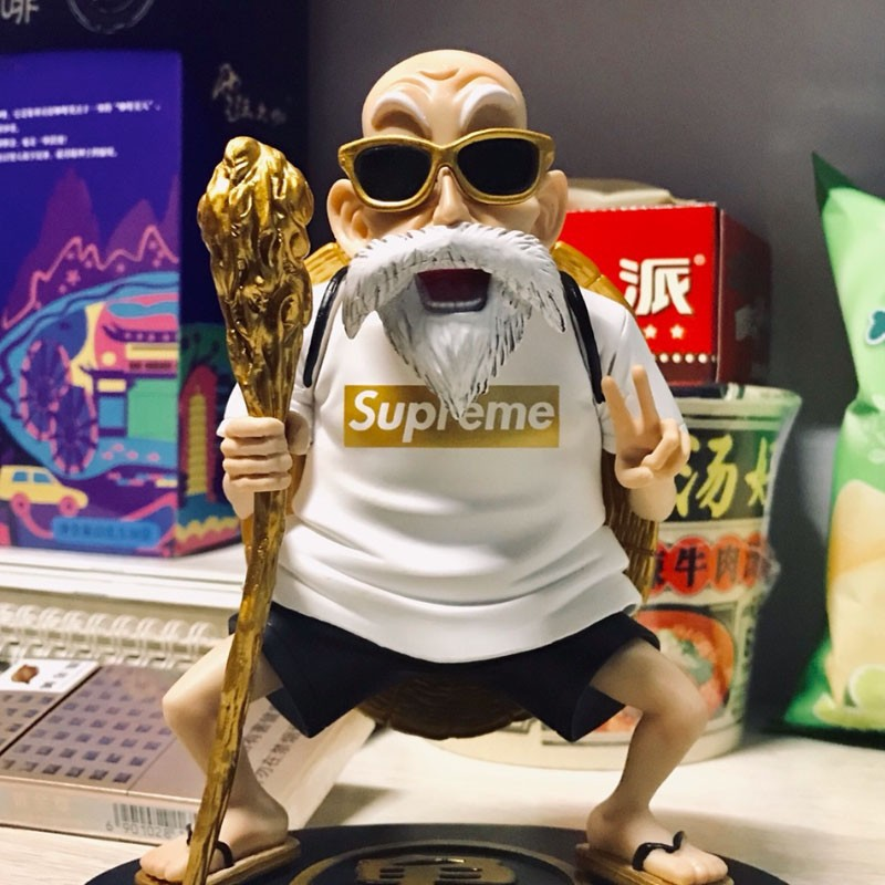 ✲Kame Sennin Supreme Action Figure Master Roshi Dragon Ball Z 18CM