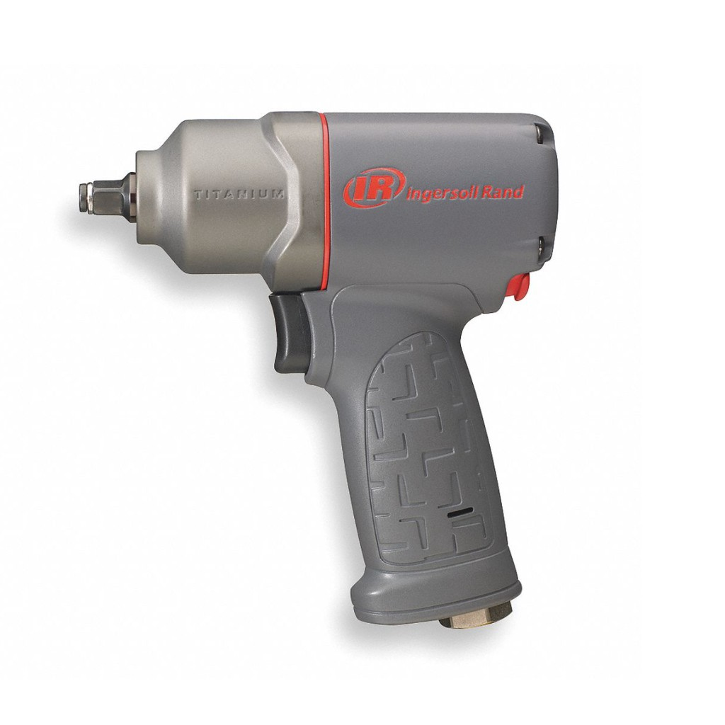 INGERSOLL-RAND 2115TiMAX Air Powered, 3/8 in Square Impact Wrench, 90 psi, 230 ft-lb Fastening Torque