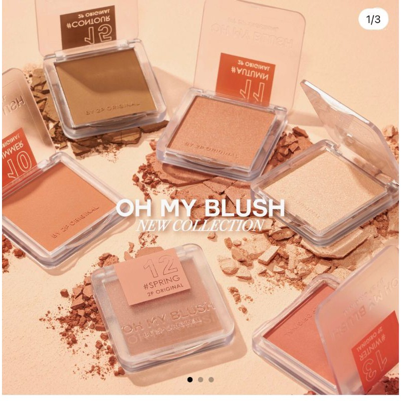 2P Original Oh My Blush New Collection