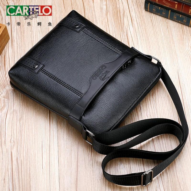 ●✓❖[สินค้าใหม่ขายด่วน] กระเป๋าผู้ชายจระเข้กระเป๋าสะพายหนังนุ่มกระเป๋าเอกสารผู้ชายกระเป๋าเดินทางกระเป๋าเป้สะพายหลังใบเล็ก