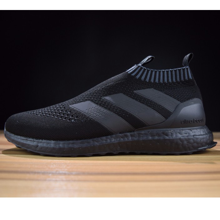 ready stock 100%original ADIDAS Kith x Ace 16+ PureControl Ultra Boost all black