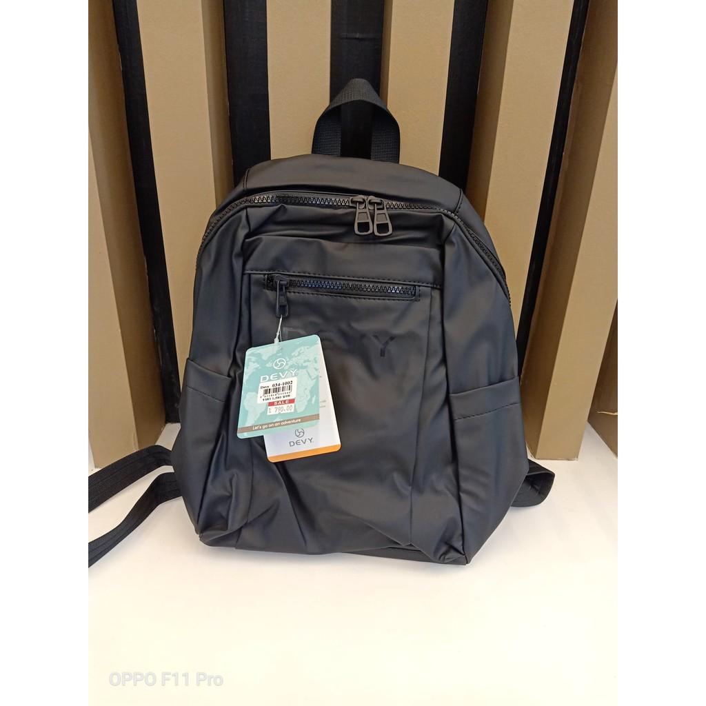 กระเป๋าเป้ขนาดกลาง Devy รุ่น034-1002 สีดำ ราคาพิเศษ 790 บาท