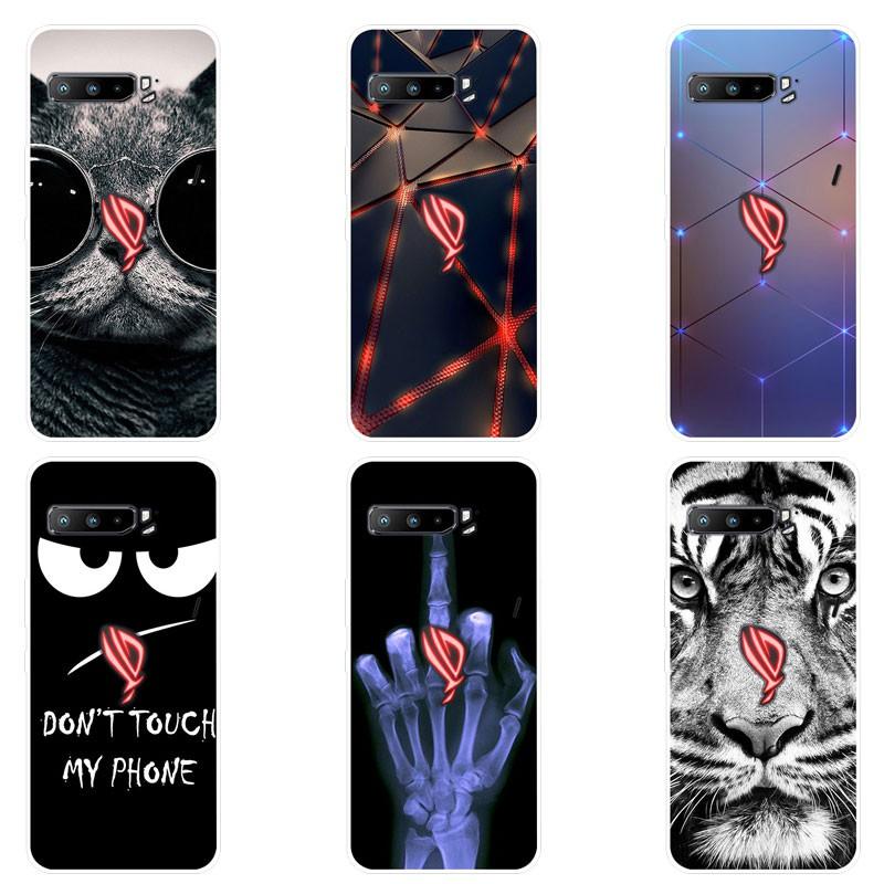 เคสสำหรับ Asus ROG Phone 3 ZS661KS เคส เคสซิลิโคน Soft Back Cover Asus ROG Phone 3 Phone3 ZS661KS Case Silicone