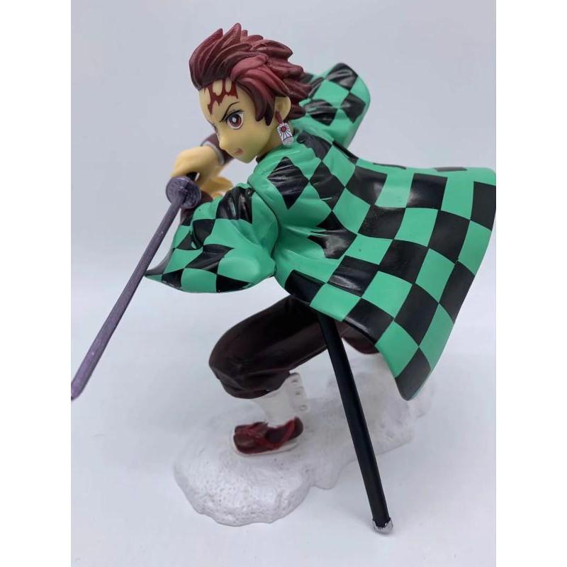 Anime toy wholesale, Demon Slayer Blade, Tanjiro Kadomon, boxed model, ornamental figure#