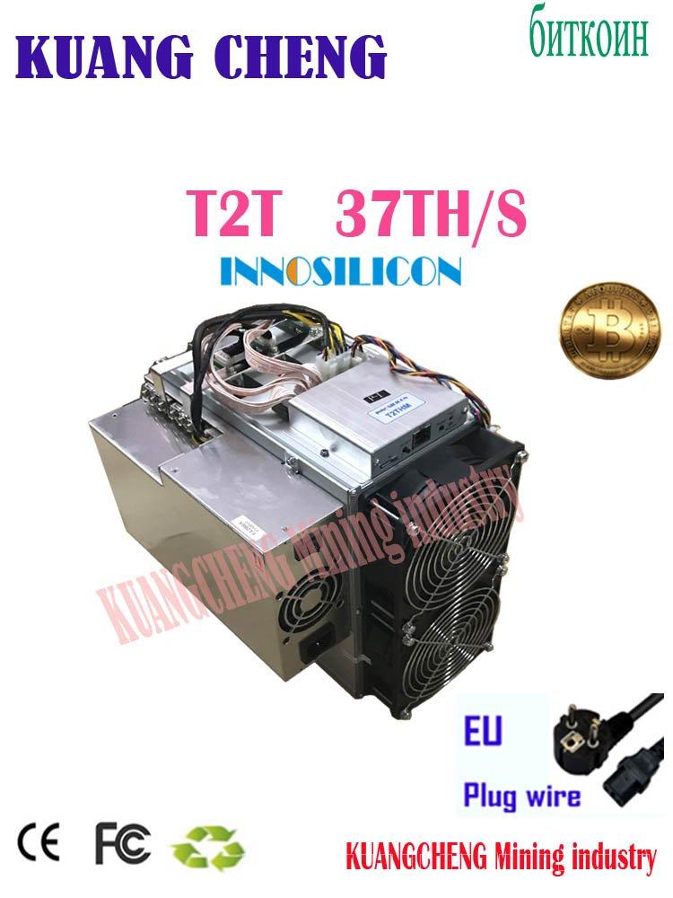 ใช้Innosilicon T2T 37TH/S 3400WเดิมPSU ASIC Miner BTCดีกว่าWhatsMiner M3 Antminer S9k s7 S15 S17 T9 + E10 A1 dJVx