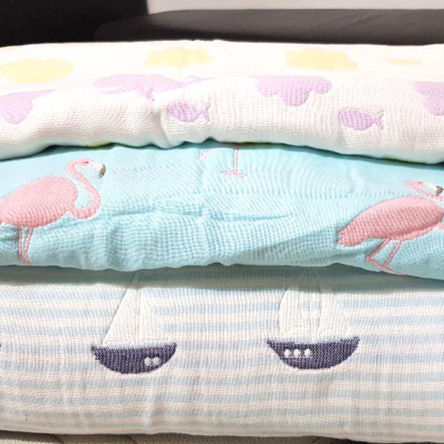 [พร้อมส่ง♡] ผ้าห่มเด็กสาลู 3.5 และ 6 ฟุต ลายน่ารัก