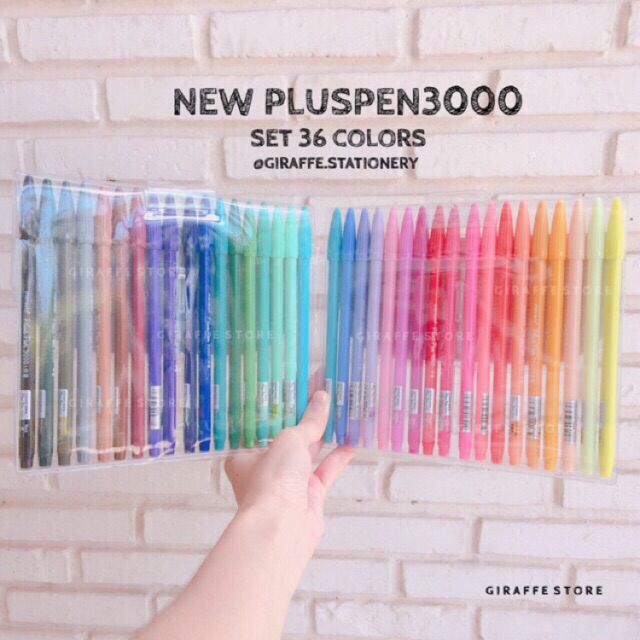 Sale Pluspen 3000 Set 36 Colors