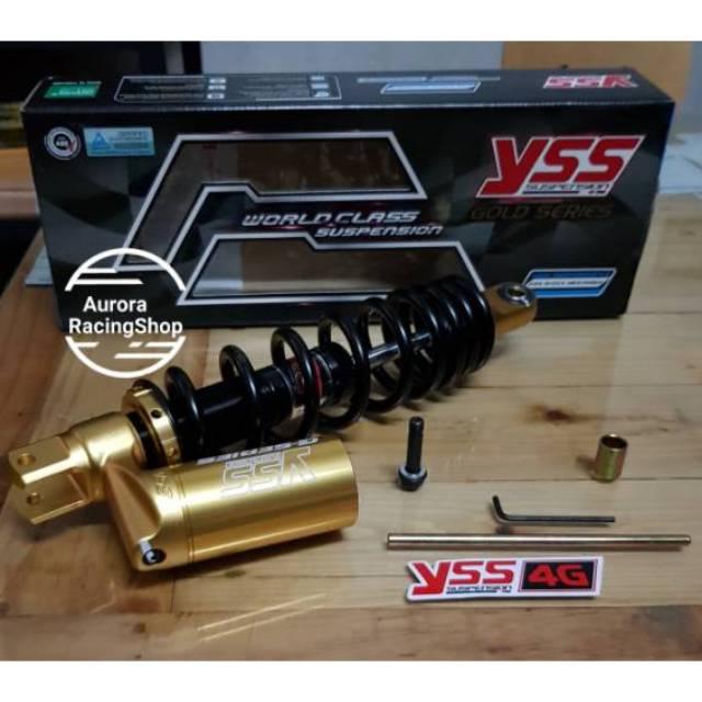 โช๊ค YSS C Euro Gold Series 300MM ท่อล่าง Mio / Beat / Vario / Fino / Xeon / M3 / Scoopy