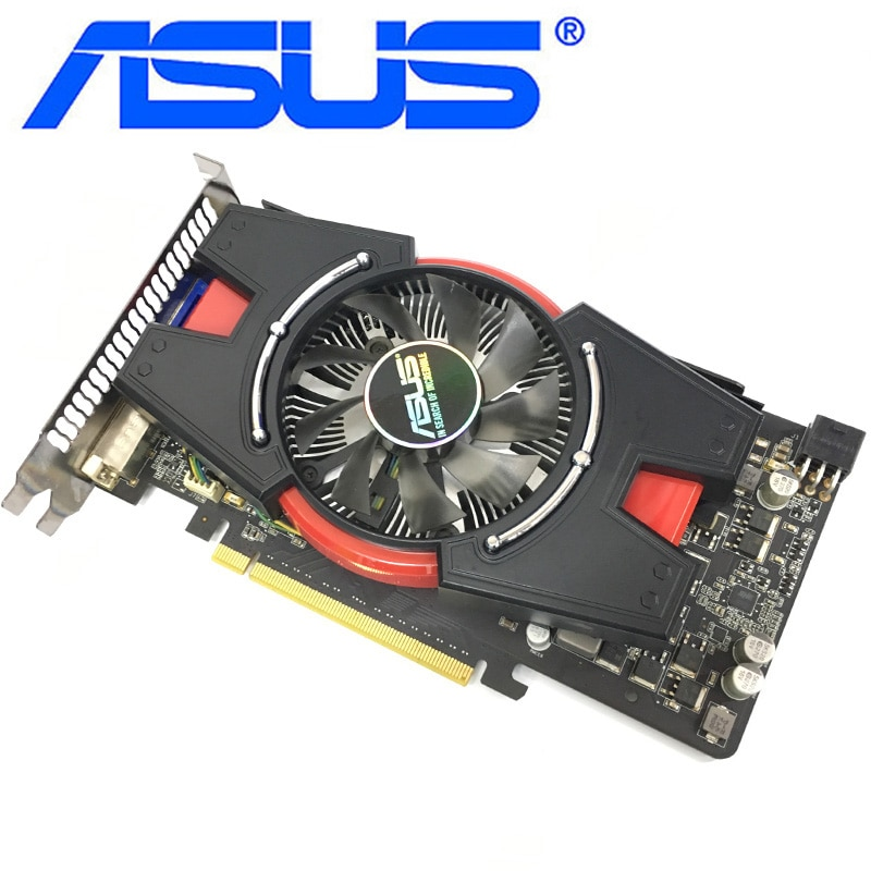 Asus Graphics Card Gtx 550 Ti 1gb 192bit Gddr5 Video Cards For Nvidia Geforce Gtx 550ti Used Vga Cards Equivalent Gtx650 2 638