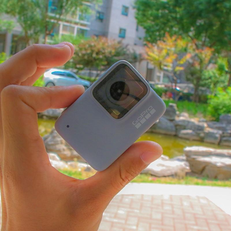 GoPro hero7black 8 กล้องกันน้ำ 4k HD กล้องกีฬามือสอง black silver dog 6go pro5