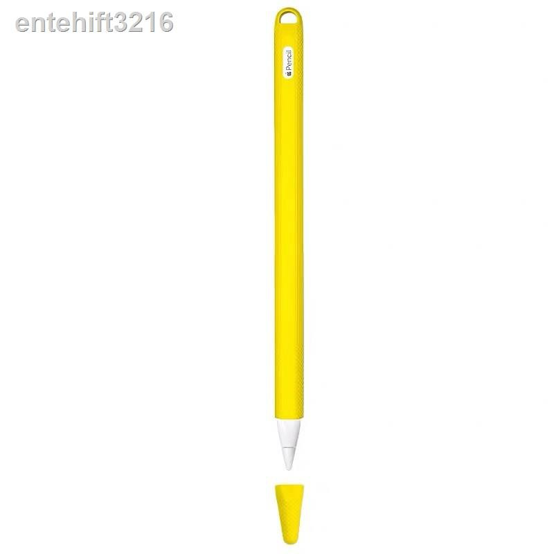 🔥รุ่นขายดี🔥✈♛เคสซิลิโคนเคสซิลิโคนเคสไอแพดเคสมือถือ apple pencil 1 เคสรองเท้า 2 Soft Silicone Case For 1/2