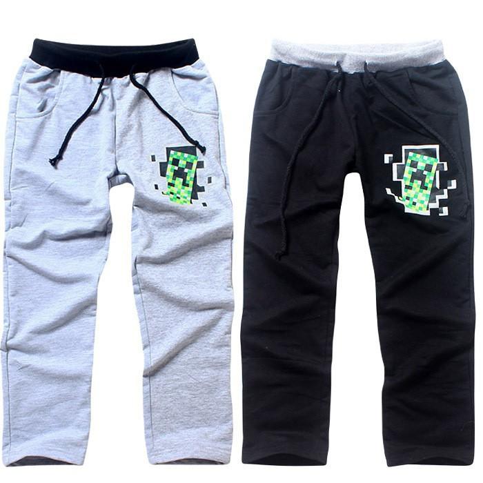 Minecraft Boys Creeper Joggers